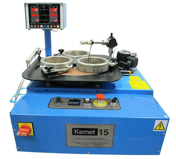 kemet 15 lapping machine