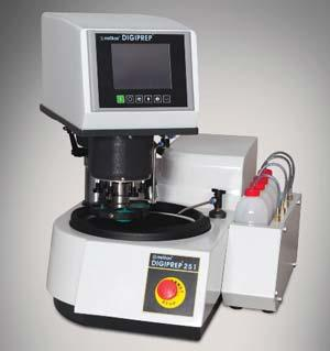 automated metallographic sample preparation