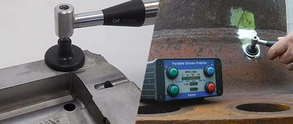 portable polisher for mould repairs and replication